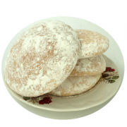 Guan Shu Bing (Chinese Shortbread, White Sugar Soft Cake)